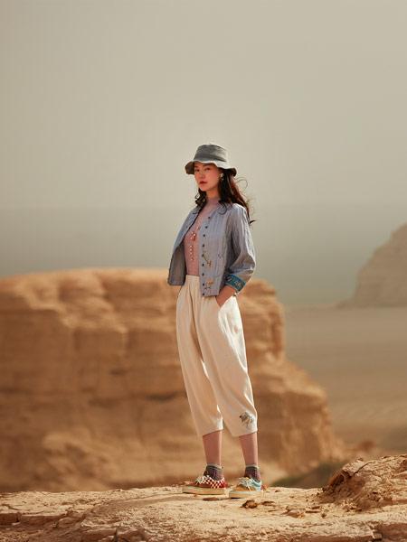 渔女装品牌2019秋季新款甜美修身显瘦长袖刺绣短款外套