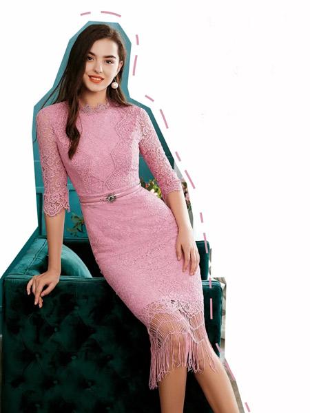 欧点女装品牌,凸显年轻感,女性韵味十足,有范
