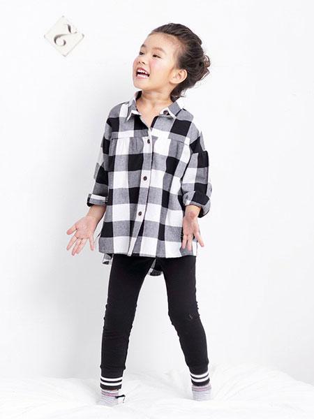 艾艾屋童装品牌2019春夏长袖韩版儿童休闲宽松上衣中长款