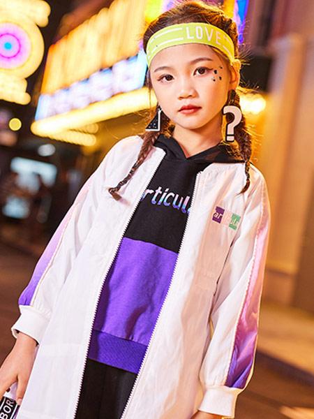 卡儿菲特河南童装品牌2019秋季新款韩版洋气宽松休闲时尚薄外套