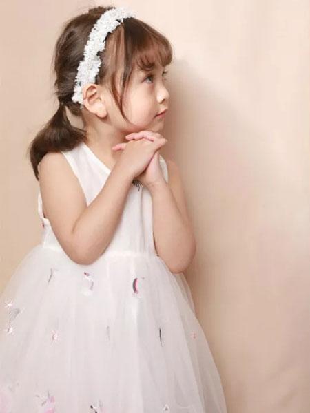 皇室童缘童装品牌2019春夏新款韩版洋气公主裙