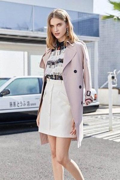 蒂赛尔娜女装品牌2019春夏新款气质套装时髦皮短裙套裙潮两件套