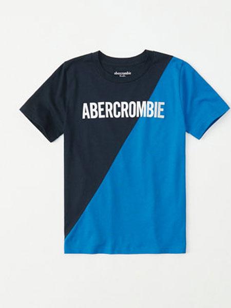 阿贝克隆比少男少女(Abercrombie Kids)童装品牌2019春夏运动中袖短款上衣