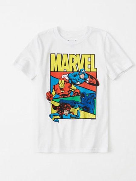阿贝克隆比少男少女(Abercrombie Kids)童装品牌2019春夏印花纯棉T恤
