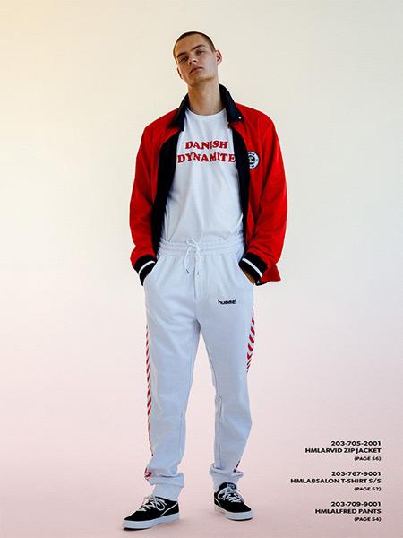 大黄蜂-Hummel休闲品牌2019春夏新款宽松休闲运动套装