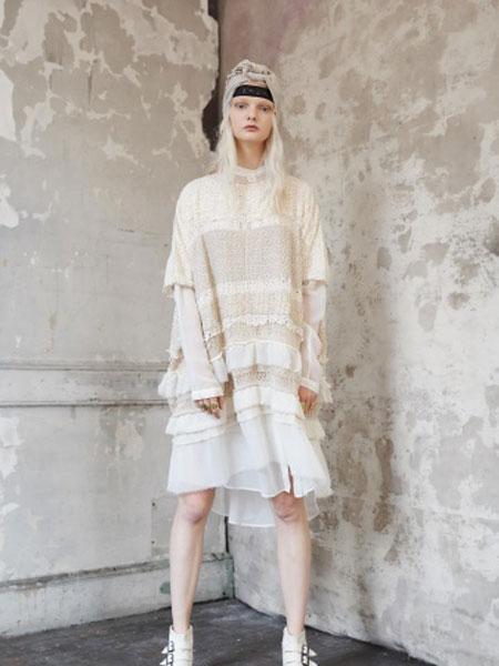 Gary Graham加里·格雷厄姆女装品牌2019春夏新款时尚韩版宽松显瘦连衣裙