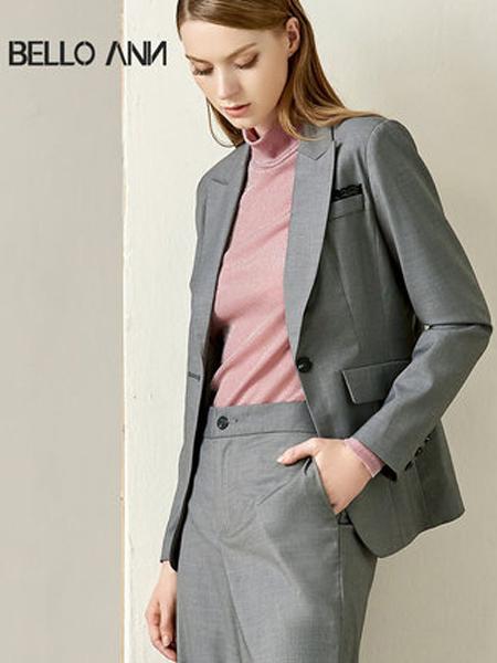 贝洛安女装品牌2019秋季新款设计感小众OL通勤气质一粒扣正装西服外套