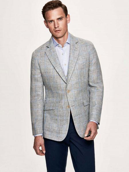 Hackett London男装品牌2019春夏新款时尚休闲修身商务西装外套