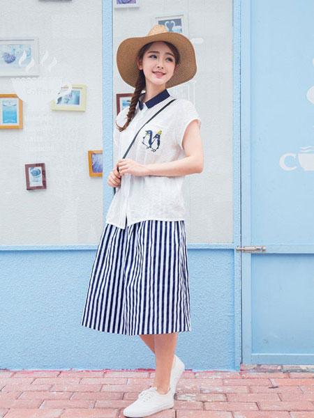 欧萝芭女装品牌2019春夏新款韩版时尚百搭刺绣衬衫
