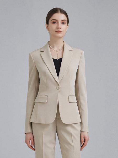 衣邦人休闲品牌2019春夏新款韩版时尚职业套装