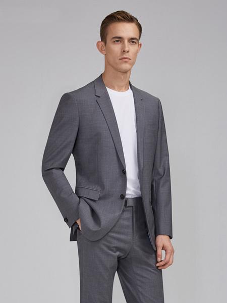 衣邦人休闲品牌2019春夏新款韩版小西装修身西服套装