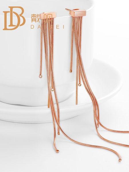 戴呗潮流饰品品牌2019春夏长款气质网红个性耳坠设计感耳钉
