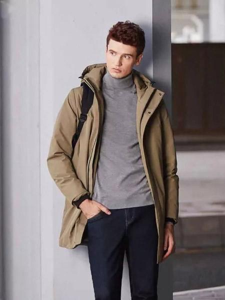 骆驼户外户外品牌2019秋季新款连帽羽绒服保暖休闲外套