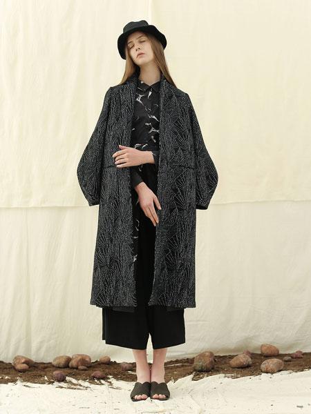 雀啡女装品牌2019秋冬新款外套女春秋羊毛中长款大衣