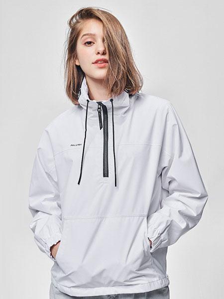 伯希和PELLIOT休闲品牌2019秋冬女潮牌秋防水外套透气单层套头夹克