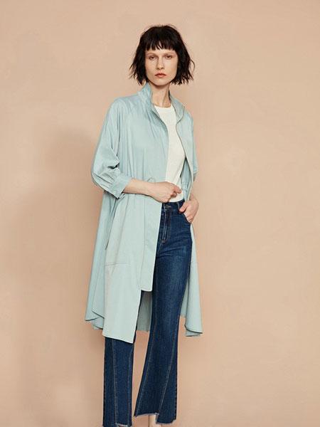F.SHINE女装品牌2019秋冬新款韩版显瘦气质修身单层超薄外套