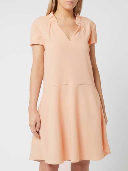 MM6 Maison Margiela女装品牌2019春夏新款时尚V领气质连衣裙
