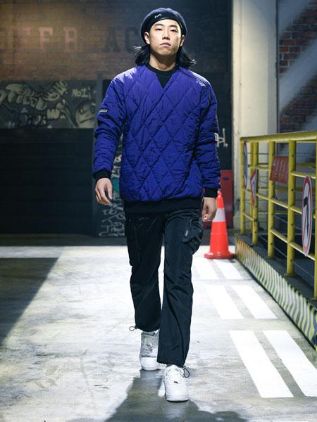 OFFBLACK男装品牌2019秋冬不开衫羽绒服帅气