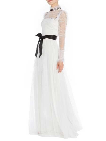 Felicity Brown�M利西蒂・布朗女�b品牌2019春夏新款�n版�r尚名媛修身�@瘦�B衣裙