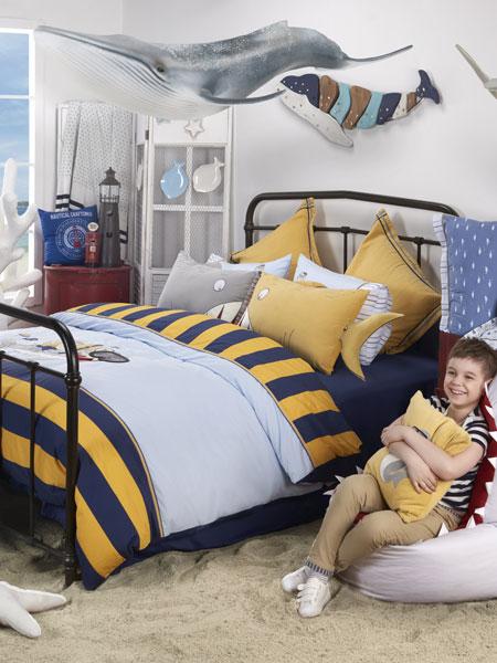 梦洁宝贝家居用品品牌舒适时尚套床