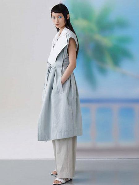 FFIXXED STUDIOS休闲品牌2020春夏短袖浅绿大衣