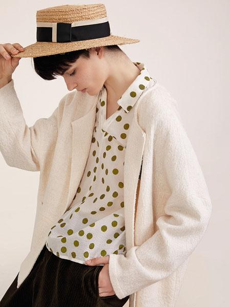 意澳女装品牌2019秋冬长袖针织衫中长款毛衣开衫外套