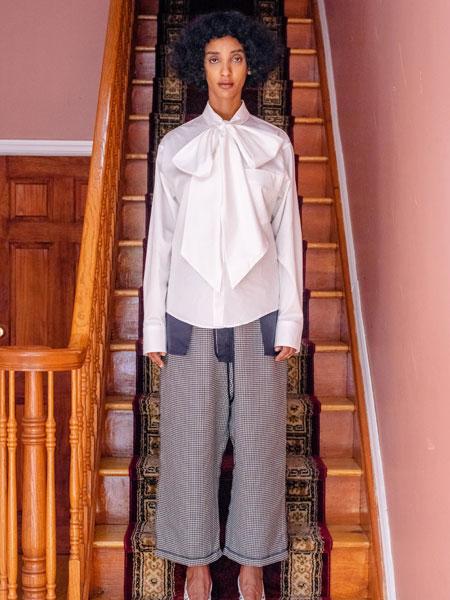 Vaquera国际品牌品牌2019秋冬时尚潮流白色上衣