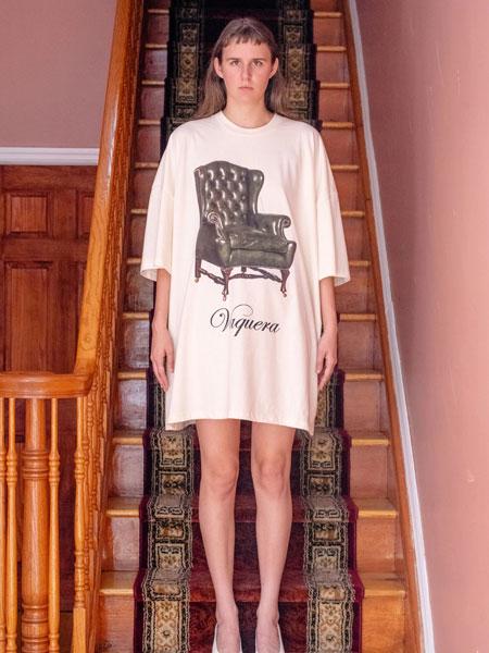 Vaquera国际品牌品牌2019秋冬印花T恤