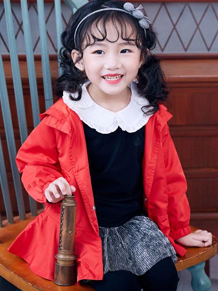 嗒嘀嗒童装品牌2019秋冬女童加绒夹棉保暖棉衣外套