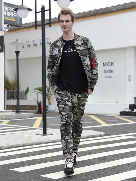军时力休闲品牌2019秋冬外套