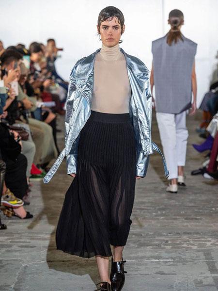 Kristina Fidelskaya女装品牌2019春夏时尚潮流套装纯色外套