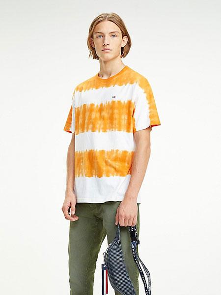 TOMMY JEANS国际品牌2019春夏条纹T恤