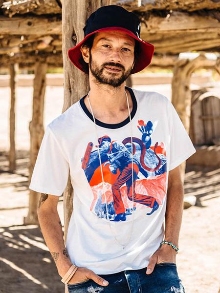 Soundman国际品牌品牌2019春夏时尚印花T恤