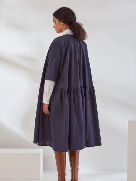 Kowtow女装品牌2019秋冬纯色裙子