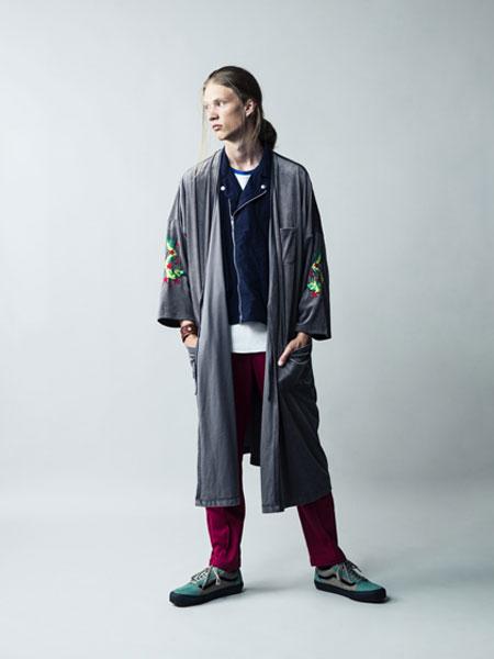WHIZ LIMITED男装品牌2019秋冬印花外套