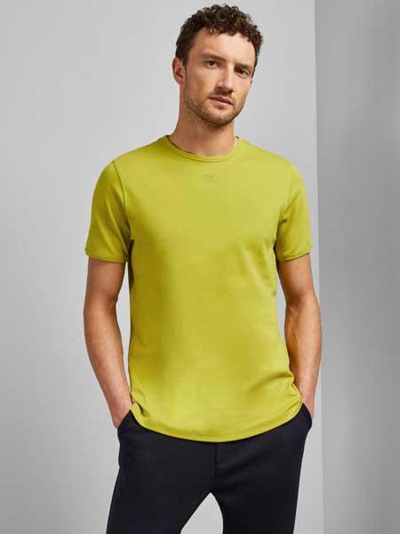 Ted Baker休闲品牌2019春夏新款时尚休闲百搭圆领短袖T恤