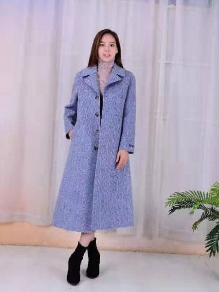 SISTER KUN女装品牌2019秋冬时尚纯色大衣