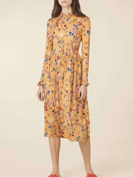 Stine Goya女装品牌2019春夏潮流印花裙