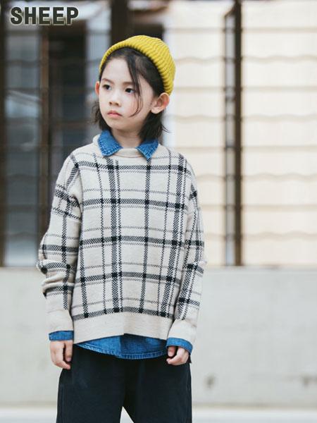 贝蒂小羊童装品牌2019秋冬原宿风港风外套高领卫衣