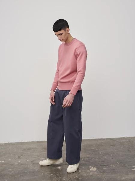STUDIO NICHOLSON国际品牌品牌2019春夏粉红色卫衣