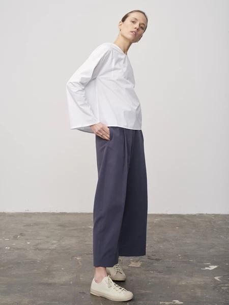 STUDIO NICHOLSON���H品牌品牌2019春夏白色套�b