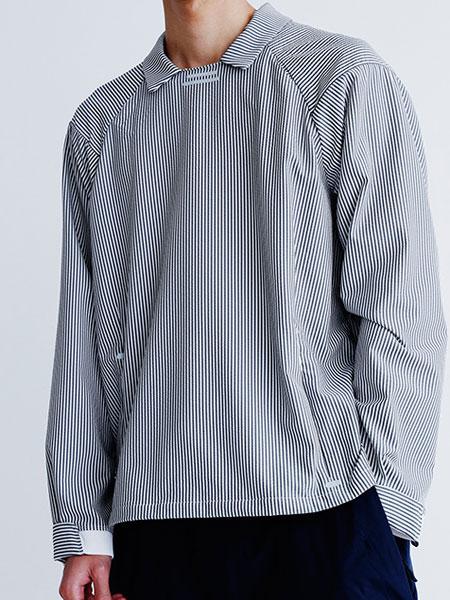 alk phenix男装品牌2019秋冬条纹衬衫