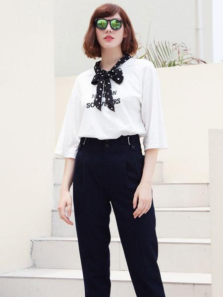 秋之恋女装品牌2019秋季新款韩版设计感宽松百搭显瘦小衫