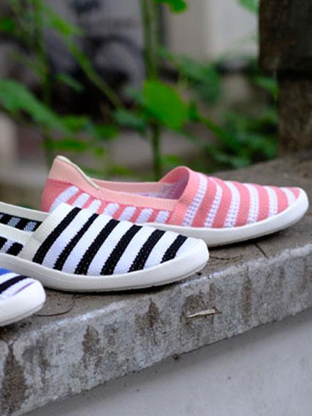 ILR因爱乐诗鞋帽/领带品牌时尚潮流休闲鞋子条纹