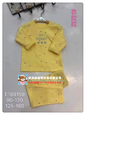 杭州永福熊品牌童装批发童装品牌2019秋冬新品