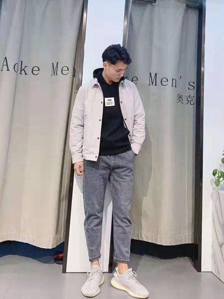 奥克男装品牌2019秋冬时尚潮流外套
