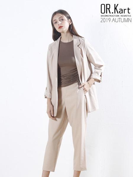 解构女装女装品牌2019秋季女性知性西装外套