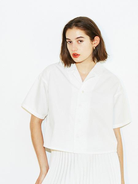 Urvin女装品牌2019春夏白色衬衫