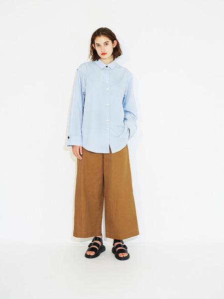 Urvin女装品牌2019春夏纯色衬衫
