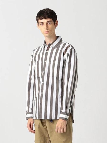 Pilgrim Surf Supply国际品牌品牌2019秋冬条纹衬衫